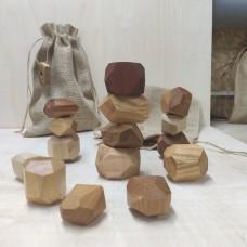 Настольная игра Туми Иши (Гора камней) 15 шт
